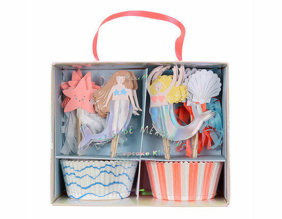 Meri Meri Let's Be Mermaids Cupcakes Kit