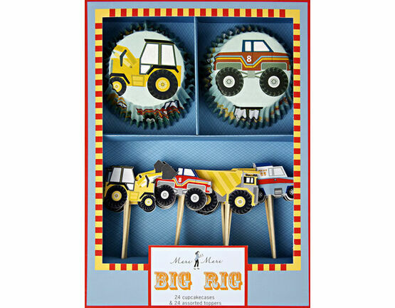 Meri Meri Big Rig Cupcake Kit