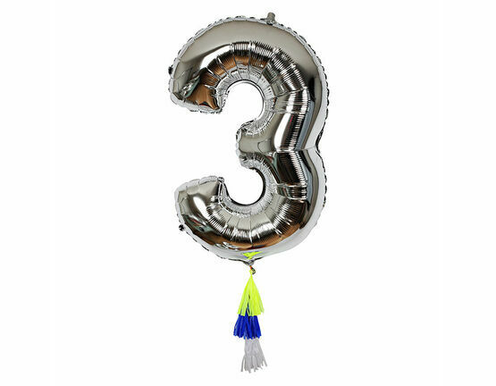 Meri Meri Fancy Number Balloon - 3