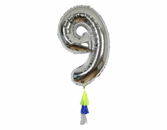 Meri Meri Fancy Number Balloon - 9