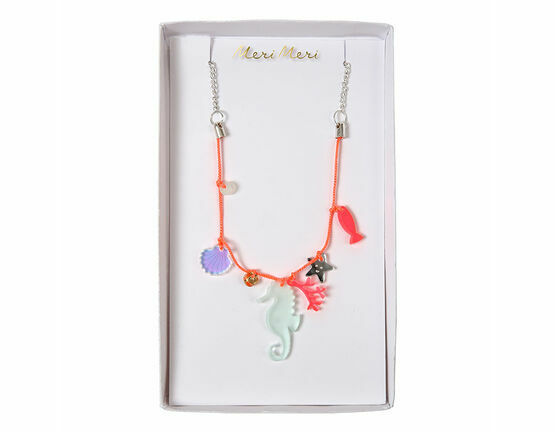 Meri Meri Sea Creatures Charm Necklace
