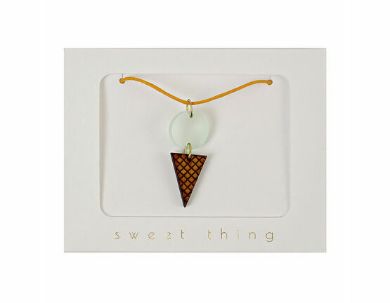 Meri Meri Ice Cream Cone Necklace