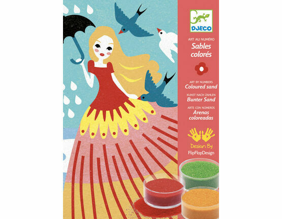 Djeco Coloured Sand Workshop - Girls' Day Out