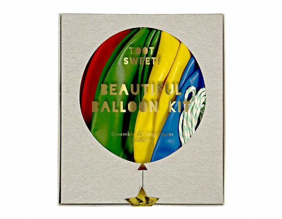Meri Meri Toot Sweet Beautiful Balloon Kit - Multi Colour x 8