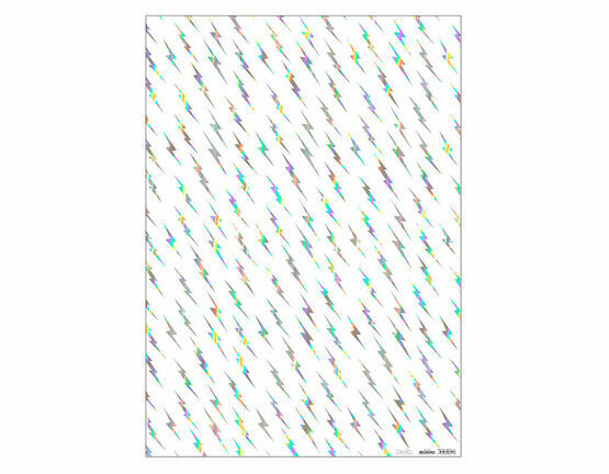Meri Meri Silver Flash with Holographic Shiny Foil Gift Wrap
