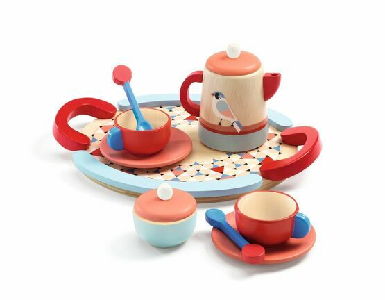 Djeco Wooden Tea Time Set - bird