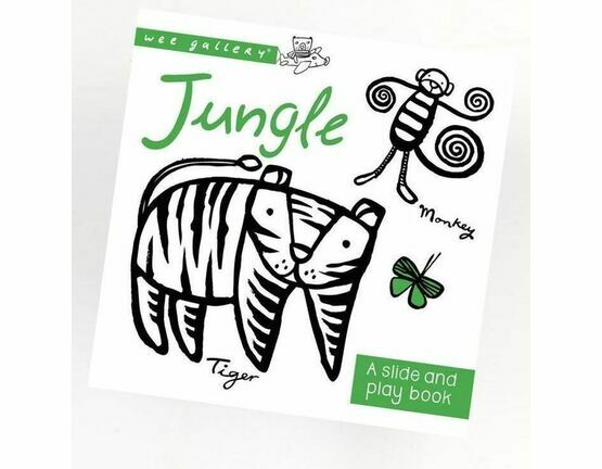 Wee Gallery Slide and Play Book - Jungle