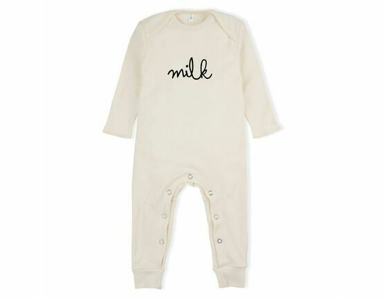 Milk Playsuit / All in one - Natural
