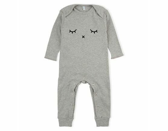 Sleepy Playsuit / All in one - Grey