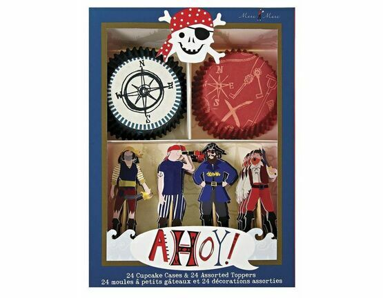 Ahoy There Pirate Cupcake Kit