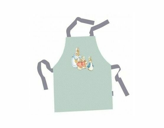 Peter Rabbit PVC Apron - green