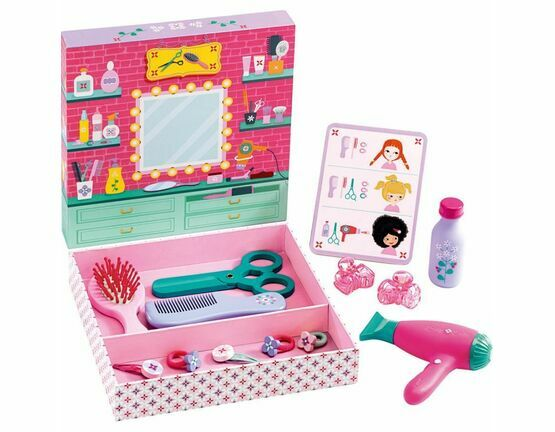 Djeco Hair Dressing Set - Betty & Bella