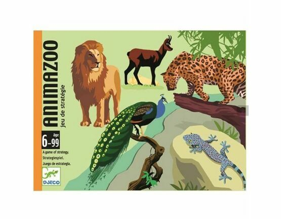 Djeco Card Game - AnimaZoo