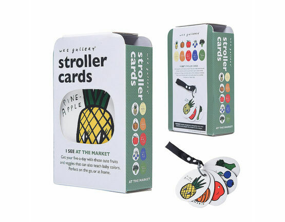 Wee Gallery Stroller / Buggy Cards - I See At the Market