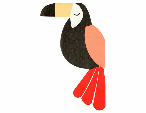 Go Wild Toucan Party Napkins
