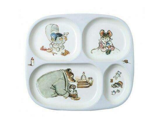 Ernest & Celestine 4 Compartment Serving Tray