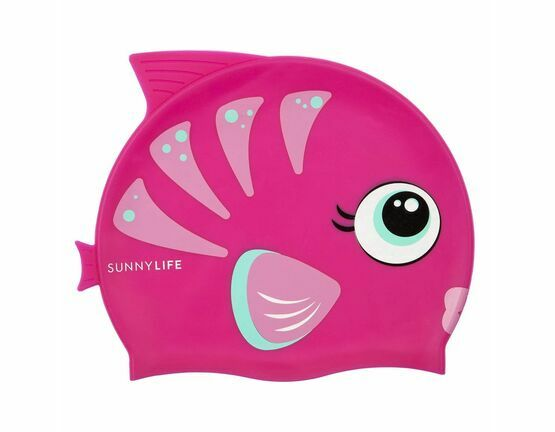 Swimming Cap - Fishy Pink