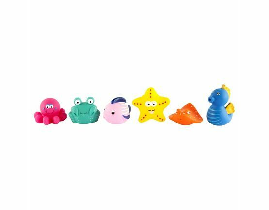 Bath Squirters - Set of 6