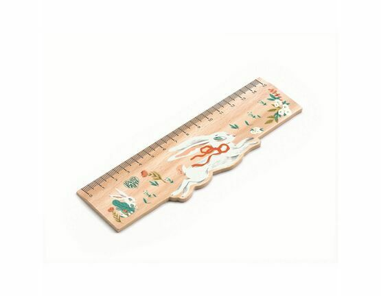 Djeco Wooden Ruler - Lucille