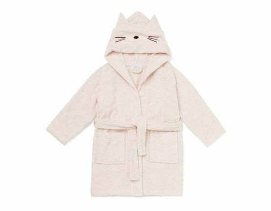Cat Lily Bathrobe - Sweet Rose