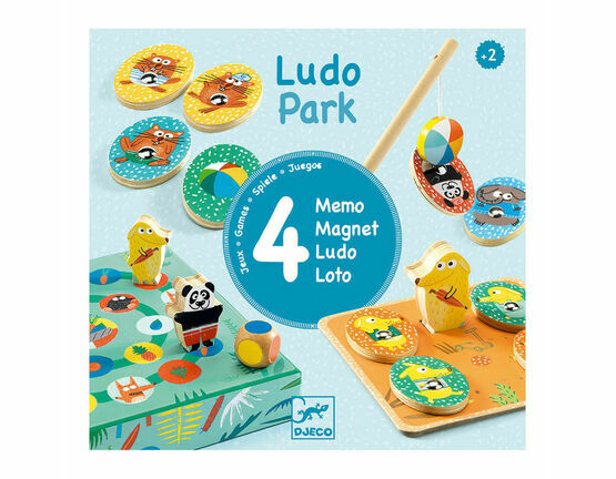 Djeco Ludopark - Set of 4 Games