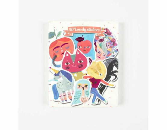 Djeco 50 Lovely Stickers - Sarah