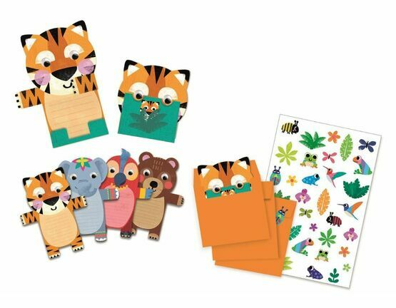Birthday Invitation Set - Wild Animals