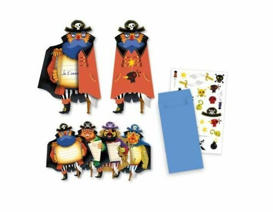 Birthday Invitation Set - Pirates