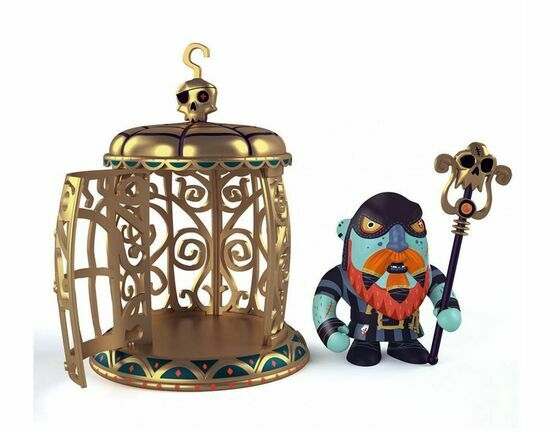 Pirate Figure - Gnomus & Ze Cage