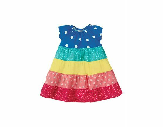 Dorothy Twirl Dress - Rainbow Hotchpotch