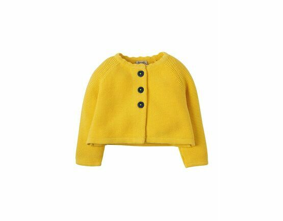 Carrie Knitted Cardigan - Sunshine