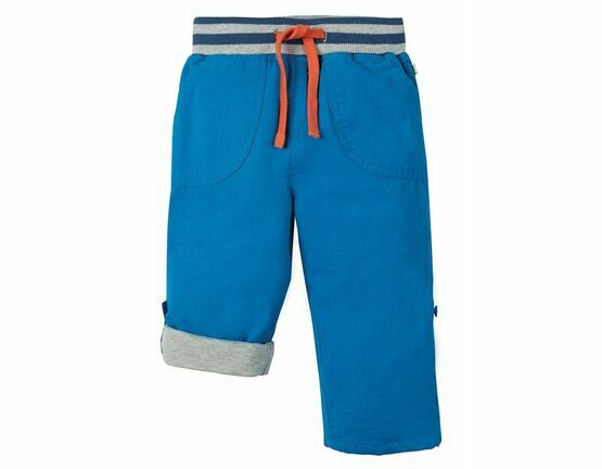 Adventure Roll Up Trousers - Sail Blue