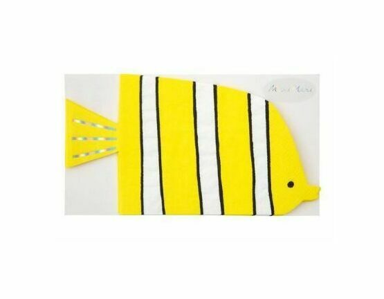 Under the Sea Party Paper Napkins - Fish