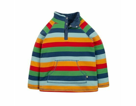 Snuggle Fleece - Rainbow Stripe