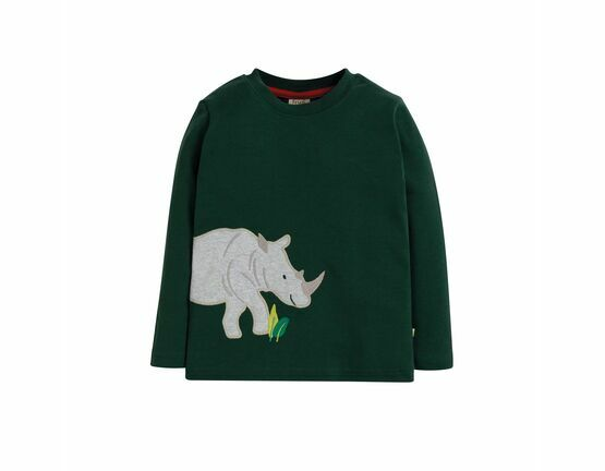 Joe Applique Fir Tree Rhino Top
