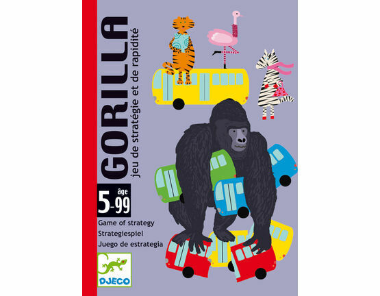 Djeco Card Game - Gorilla
