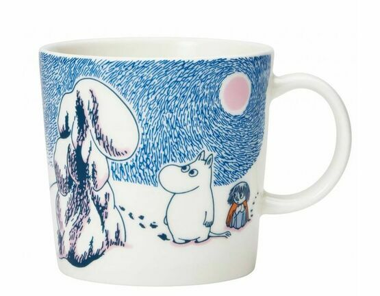 Moomin Winter Special Edition 2019 Mug - Crown Snow Load