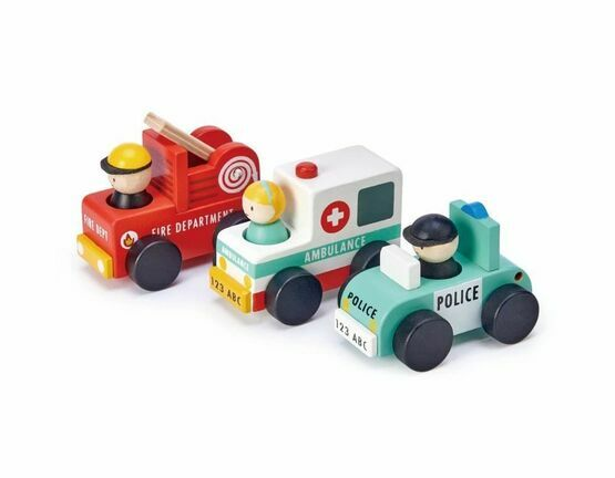 Tender Leaf Toy Emergency Vehicles