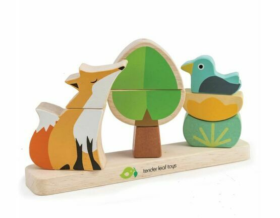 Tender Leaf Toys Foxy Magnetic Stacker Game