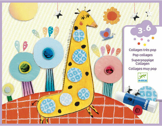 Djeco Collage for Little Ones - So Pop