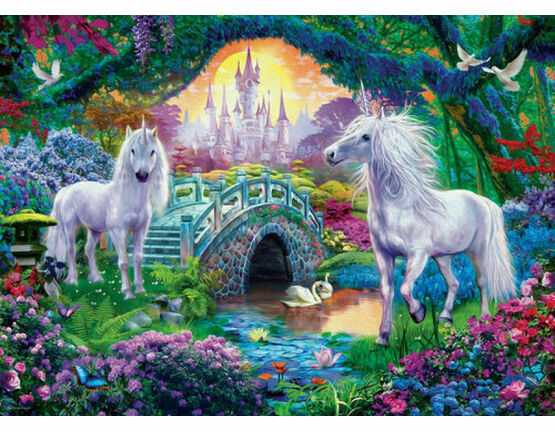 XXL Pieces - Unicorns in Fairy Land 500 Piece Puzzle