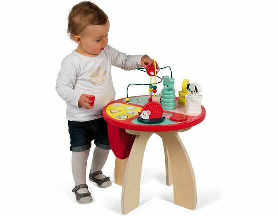 Janod Wooden Activity Table - Baby Forest