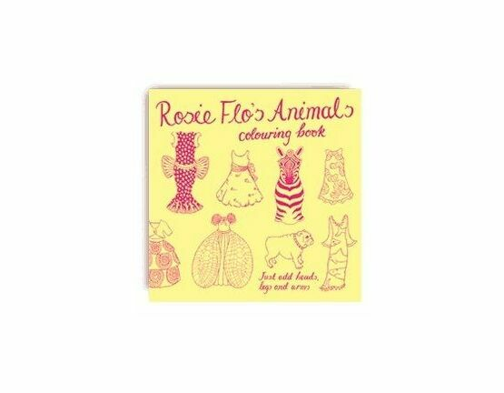 Rosie Flo Colouring Book - Animals