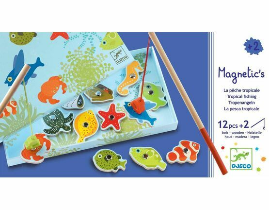 Djeco Tropical Fishing Magnetic Game