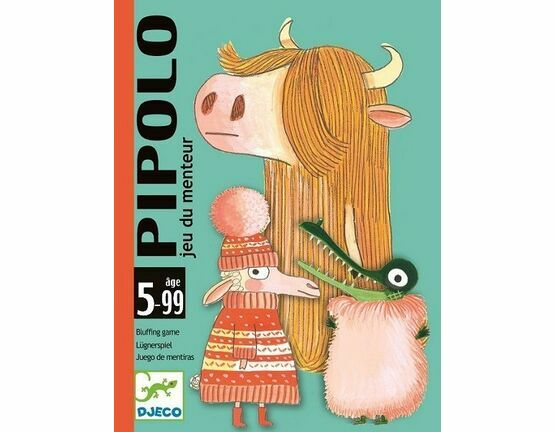 Djeco Pipolo Card Game