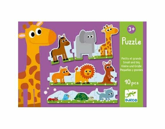 Djeco Puzzle Duo - Small & Big