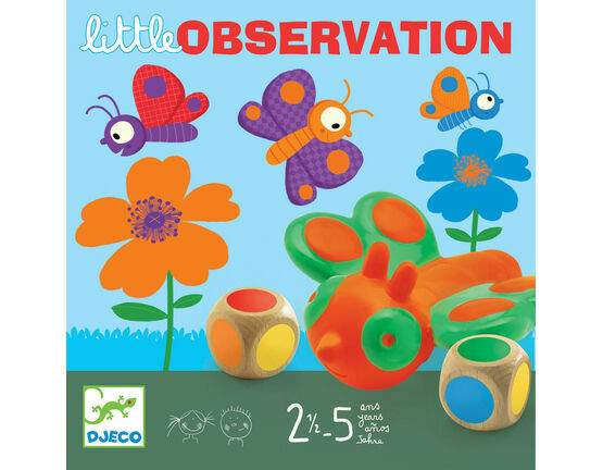 Djeco Board Game - Little Observation