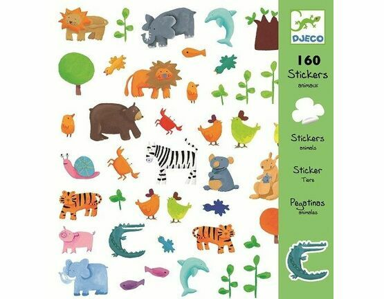 Djeco Sticker Collection - Animals