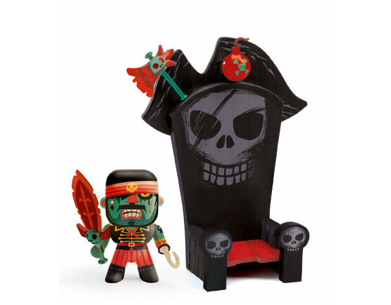 Djeco Pirate Figure - Kyle and his Throne