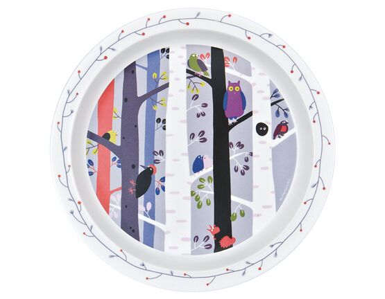 Petit Jour Paris Forest Baby Plate - Birds